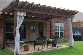 Patio Curtains Outdoor Idea by Pergola Design Ideas Outdoor Pergola Curtains Indoor Outdoor