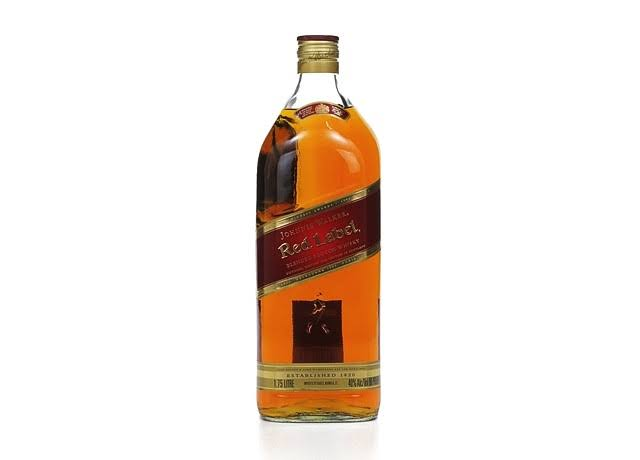 Johnnie Walker Red Label Blended Scotch Whisky - 1.75L