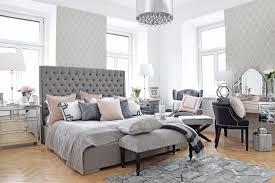 schlafzimmer in rosa und grau schlafzimmer dekorieren