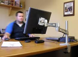 Lx Desk Mount Lcd Arm Manual by Ergotron 45 235 194 Neo Flex Extend Lcd Arm