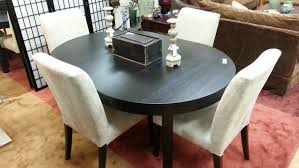 Ikea Dining Room Sets Canada by Dining Tables Bjursta Extendable Table Brown Black Ikea Dining