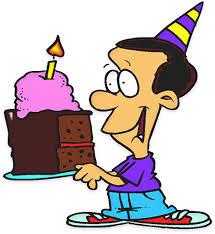 nice slice of birthday cake