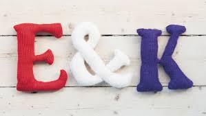 Knit The Alphabet Quick & Easy Alphabet Knitting Patterns
