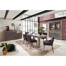 esszimmer set gronau 55 in betongrau und haveleiche nb mit buffetschrank ohne stühle