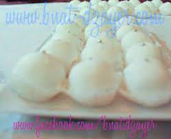 recette des boules de coco au glaçage de lilia bnat dzayer