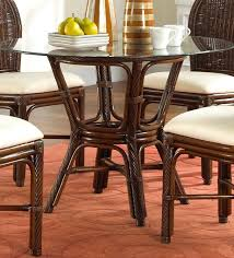 Glass Dining Room Table Target by Dining Table Rattan Round Dining Table Base Wicker Chairs Set