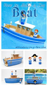 how to make a toy paddle boat