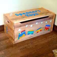 personalized wood toy box natural toy boxes u0026 toy chests