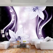 frescobehang vlies fototapete blumen lilien tapete
