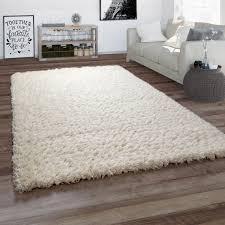 teppich wohnzimmer shaggy hochflor flauschig weich