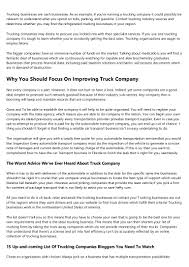100 Worst Trucking Companies To Work For 5 Things Everyone Gets Wrong About Ltl Shipping