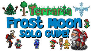 Terraria Pumpkin Moon Arena Ios solo terraria frost moon guide tutorial arena drops how to