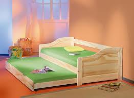 chambre enfant pin banquette lit gigogne edouard pin naturel