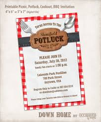 Halloween Potluck Invitation Ideas by Potluck Invitation Template Themesflip Com