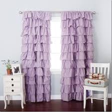 Light Pink Ruffle Blackout Curtains by Modern Unique Cotton Ruffle Shower Curtain Ruffle Curtains Light