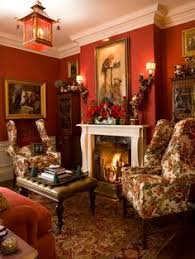 Red Living Room Ideas Uk by Red Walls Chocolate Furniture Love The Brown Furniture Against