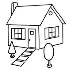 Top Free Printable House Coloring Pages Online