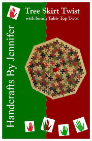 72 Inch Christmas Tree Skirt Pattern by 76 Best Quilted Christmas Tree Skirts Images On Pinterest