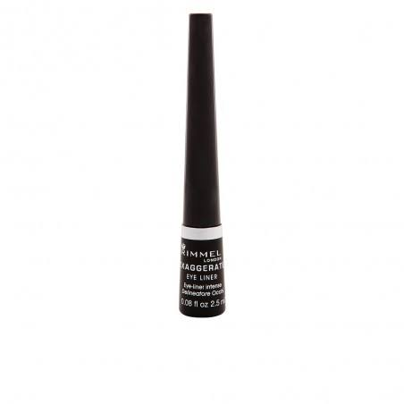 Rimmel London Exaggerate Liquid Eye Liner - 001 Black, 2.5ml