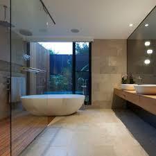 badezimmer mit steinfliesen ideen design bilder juli