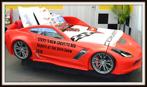 step2 debuts their new corvette bed at the new york international