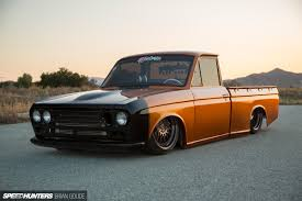 A Datsun Truck With Skyline Tricks - Speedhunters Datsun Pickup Truck Usa Canada Automobile Sales Brochures History Of Datsun Photos Past Cars Classic Truck Award In Texas Goes To 1972 Pickup Medium Ratrod And Bikes Trucks Mini Trucks Pickup Truckin Pinterest Nissan Original Arizona Truck 1974 620 For 5800 Get Into Bed With A Khabarovsk Russia August 28 2016 Car Wikipedia Bone Stock 1968 520 On The Road March 3 Car At Starting Grid Classic Race