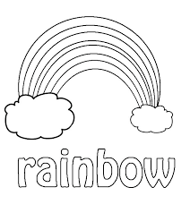 Rainbow Coloring Pages Free Printable Color Page Sheets