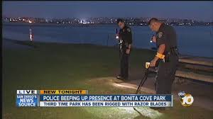 Razor Blade Found In Halloween Candy 2013 by Police Beefing Up Presence At Bonita Cove Park After Razor Blades