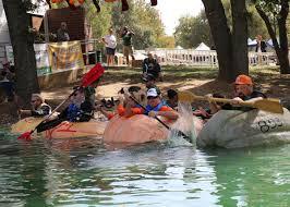 Giant Pumpkin Festival Elk Grove by Cook Defends Pumpkin Regatta Title News Egcitizen Com