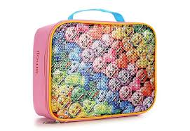 Emoji Girls Rainbow Lunchbox