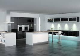 meuble cuisine laqu blanc cuisine noir et blanc laque blanche meuble homewreckr co