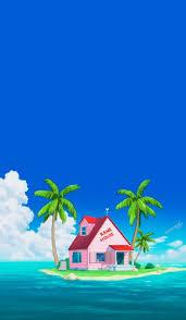 100 Kames House Kame Dbz Scenery Wallpaper Dragon Ball Gt Dbz