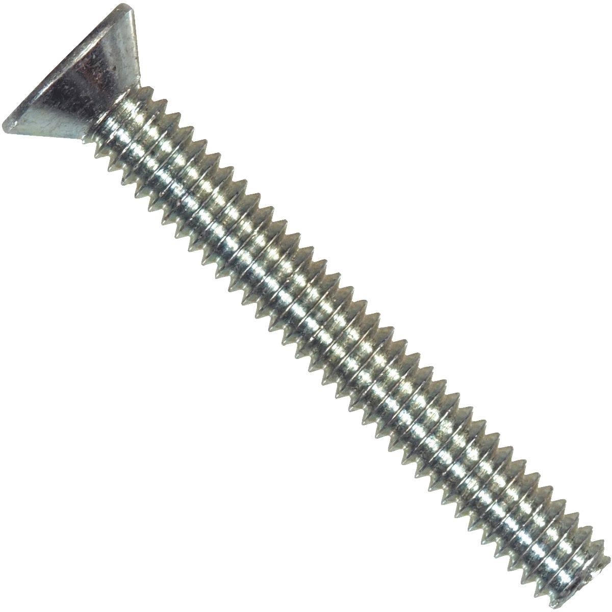 Hillman 101062 Flat Head Machine Screw