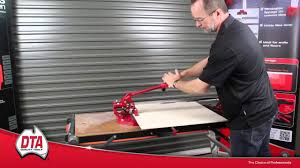 Superior Tile Cutter No 1 by How To Use The Professional Ishii Tile Cutter Youtube