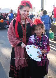 Irvington Halloween Festival Attendance by Coolest Home Made Frida Kahlo Halloween Costume