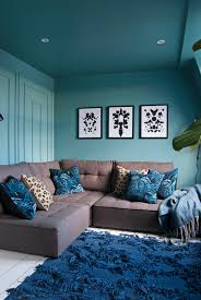 Brown And Teal Living Room Pictures by Family Tv Room Reveal French For Pineapple Blog Teal Blue Room