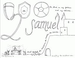 9 Pics Of Samuel Bible Story Coloring Pages For Kids
