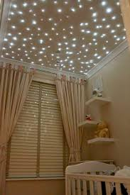 fiber optic star lights baby nursery ceiling a lovely way to
