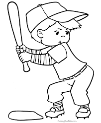 Unique Baseball Coloring Pages KIDS Design Gallery