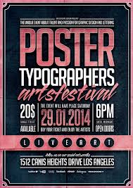 Typography Poster Template Vol 2
