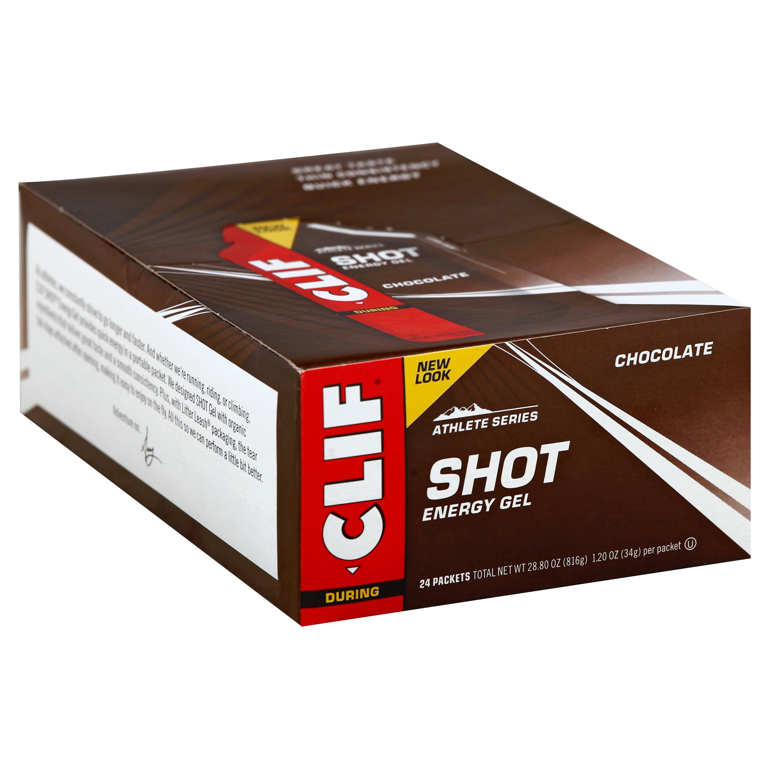 Clif Shot Energy Gel - Chocolate, 34g