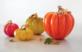 Glass Blown Pumpkins by Enchanting Art Glass Pumpkins U2013 Artful Life