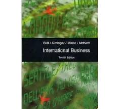 Mcgraw Hill Desk Copy by International Business 12th Edition Mcgraw Hill Text Book Centre