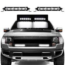 100 Light Bar Truck 2pc Ols 7 18w Off Road LED Work Driving Flood Jeep