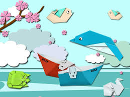 Folding Paper Crafts For Kids