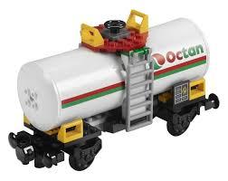 100 Lego Tanker Truck LEGO City 7939 Octan Fuel Cargo Train Wagon NEW