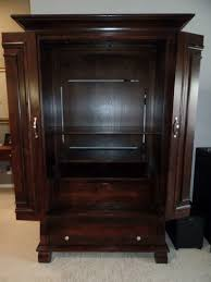 Z Gallerie Glass Dresser by Z Gallerie Armoire Tv Cabinet Dark Colored For Sale In Plano Tx