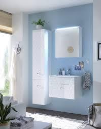 badezimmer komplettset 3 tlg inkl led beleuchtung weiß hochglanz günstig möbel küchen büromöbel kaufen froschkönig24