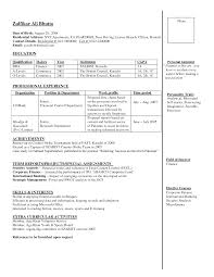 Resume Format For Government Job Luxury Samples Bank Jobs In Freshers