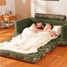 Intex Inflatable Pull Out Sofa by Intex Inflatable Realtree Camo Queen Size Pullout Sofa Bed